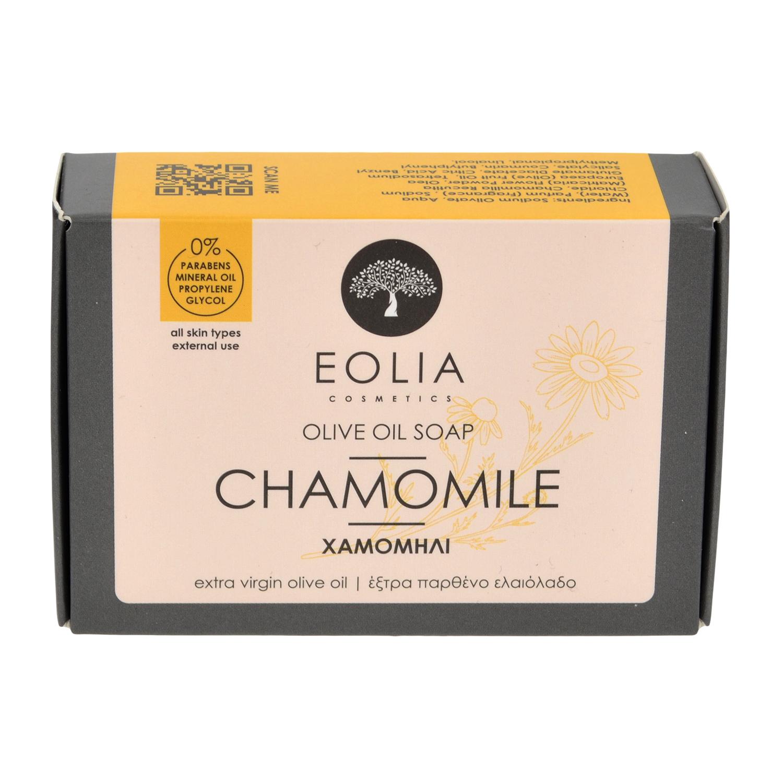 Σαπούνι ελαιόλαδου με βαλσαμέλαιο, χαμομήλι και πρόπολη 100gr από την Eolia Cosmetics